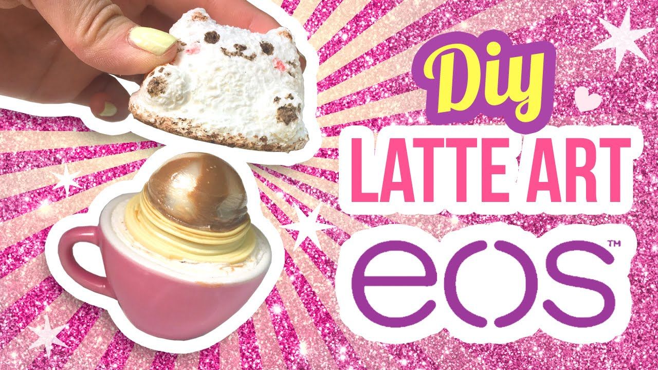 Diy eos super realistic 3d latte art cat watch this to for Diy crafts youtube channels