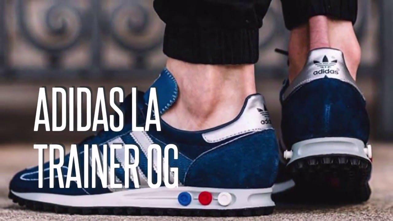 san francisco 8d62a 1611e Adidas La Trainer Og Mig