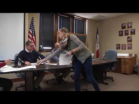 Mahaska County Board of Supervisors Meeting for October 16, 2017