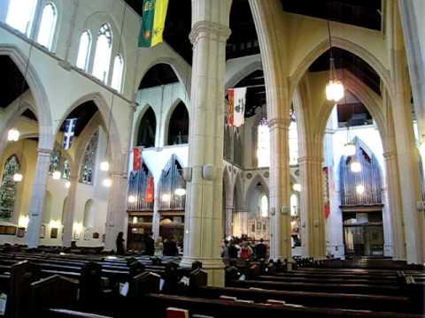 The Pipe Organ At St Paul's Church, Toronto