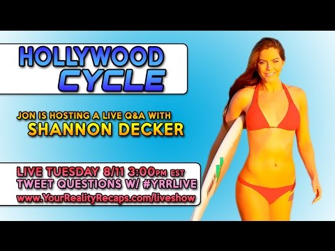 Interview w/ E star Shannon Decker from Hollywood Cycle