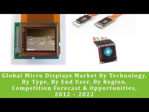 Global Micro Displays Market Forecast and Opportunities, 2022- TechSci Research