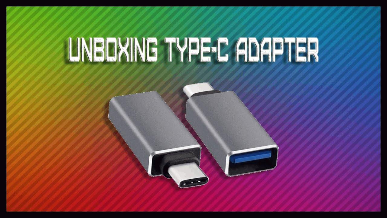 Unboxings Aleatórios #4 Adaptador Type-C