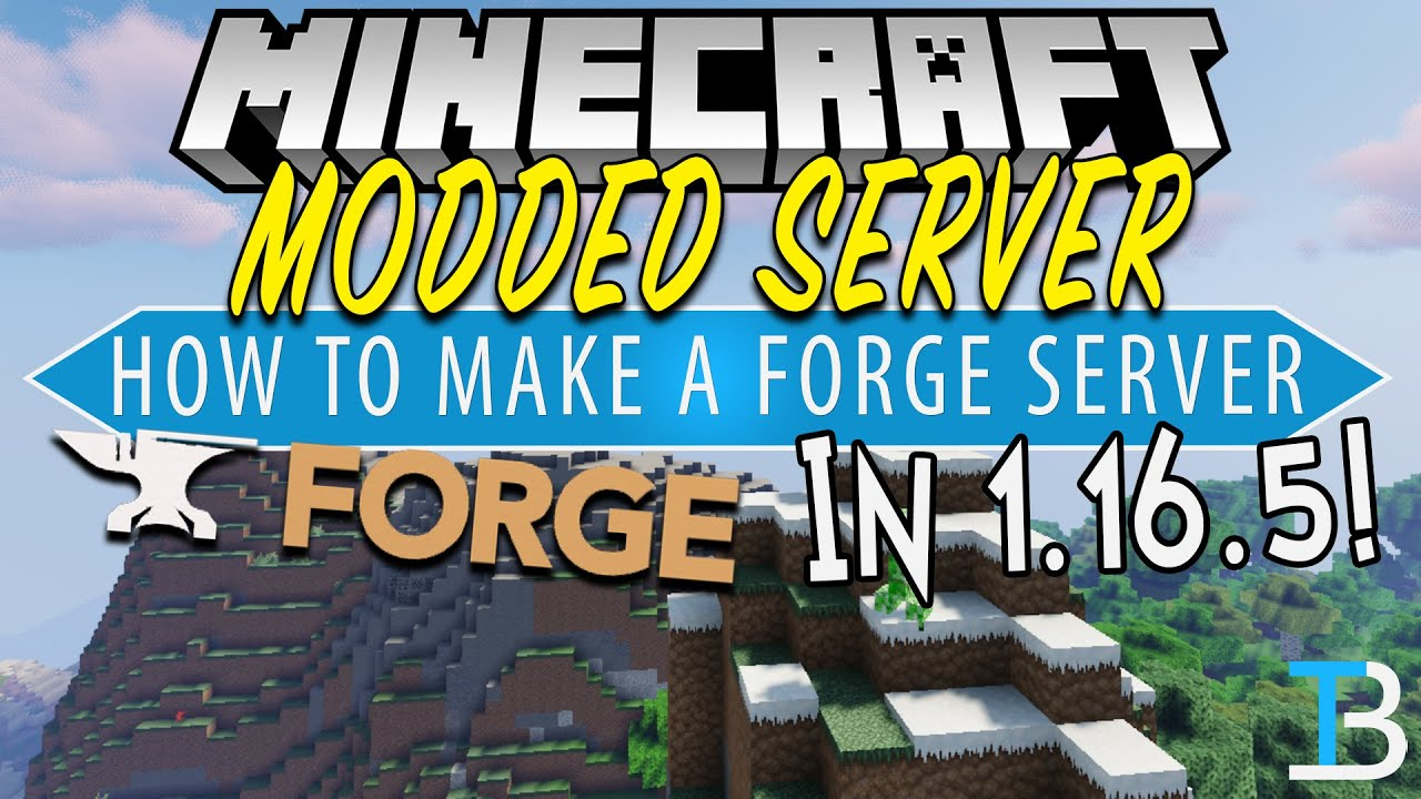 How To Make A Modded Minecraft Server in 1 16 5 (Forge Server 1 16
