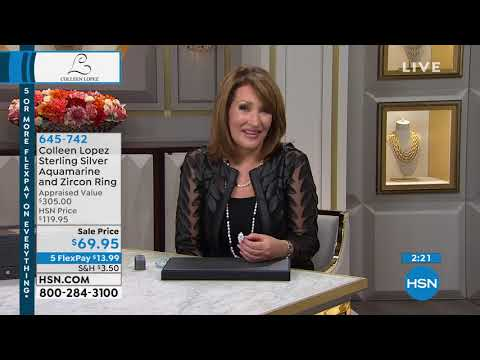 HSN | Colleen Lopez Gemstone Jewelry 09.30.2019 - 01 PM