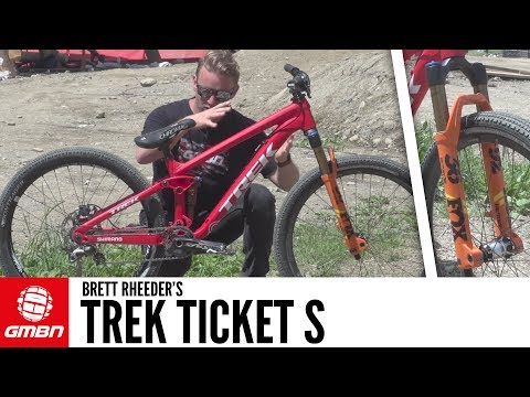 Brett Rheeder's Trek Ticket S Slopestyle Bike