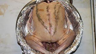 Фаршированная утка. Stuffed duck.