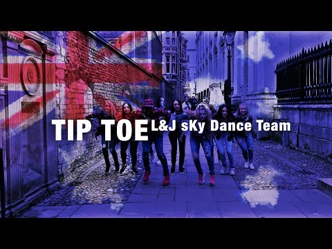 Jeson Derulo_Tip Toe ft French Montana || L&J sKy Dance Team . HD VIDEO