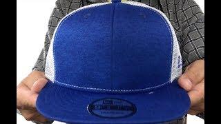 997f5acef25 New Era  MESH-BACK BLANK SNAPBACK  Royal Shadow Tech-White Adjustable Hat  ...