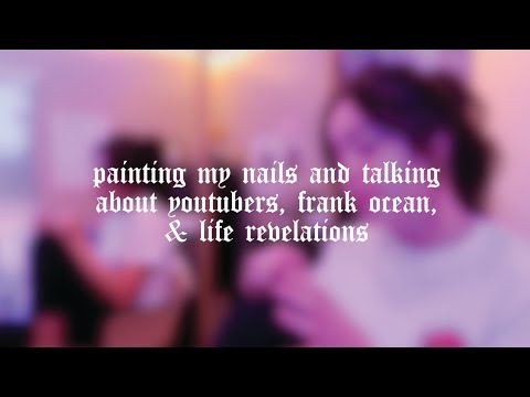 painting my nails, youtubers, life revelations | lindseyremvlogs