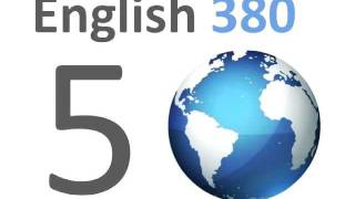 English380 lesson 05 ESL l'inglese 영어 공부를 anglais Inglés αγγλικά Englische