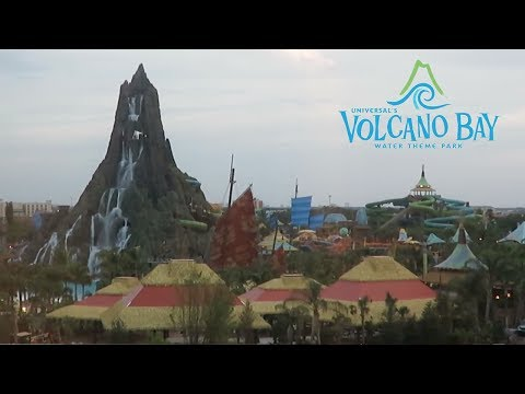 Volcano Bay is getting ready to open at The Universal Orlando Resort!