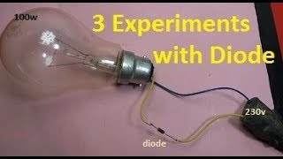 3 Use Full Experiments with Diode