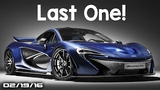 Last Mclaren P1 Carbon Fiber, Final Koenigsegg Agera,Turbine Supercar - Fast Lane Daily