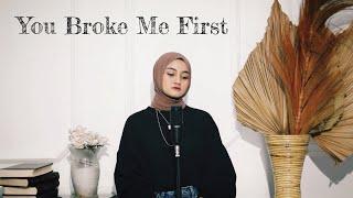 Download You Broke Me First - Tate McRae Cover By Eltasya Natasha (lyrics)