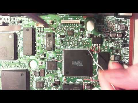 Playstation ONEchip Mod in SCPH-102