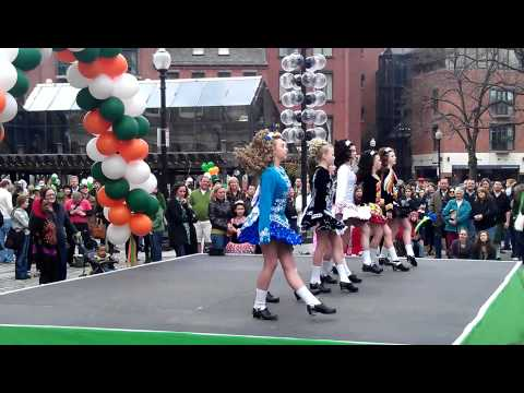 St. Patrick's Day  - Irish dance - Boston MA