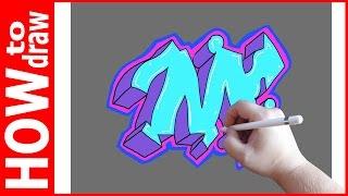Как нарисовать граффити буквы, М № 1(INSTAGRAM: https://www.instagram.com/dmitrysyrman/ Я в ВКОНТАКТЕ: http://vk.com/syrman_d Группа в ВКОНТАКТЕ: http://vk.com/public59608073 I'm on ..., 2016-09-25T02:16:27.000Z)
