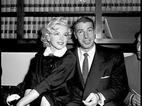 Marilyn Monroe Weds Joe Dimaggio January 14 1954