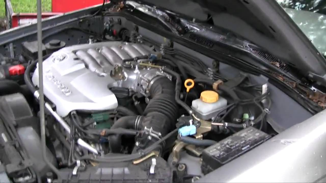 Nissan Pathfinder Bad Engine Noise Youtube