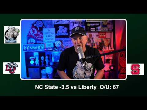 NC State vs Liberty 11/21/20 Free College Football Picks and Predictions CFB Tips Pick Dawgz (skip to 41s)