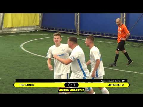 Огляд матчу   The Saints 2 : 5 Агромат-2