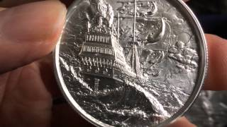Silver Unboxing: 2 Oz Privateer Ultra High Relief Silver Round