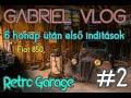 6 Hónap után az els? inditások #2 - Fiat 850 RETRO GARÁZS #9
