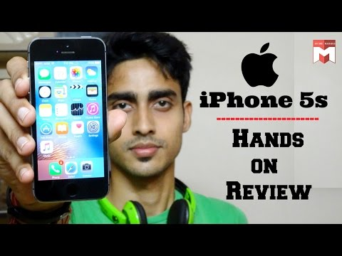 Apple iPhone 5s   Hands on Review(Hindi)! - Youtube