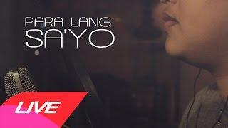 Para Lang Sa'yo   Aiza Seguerra (Cover by Mitch S.)