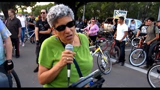 San Jose Mayor City Council Candidates at May 2014 San Jose Bike Party