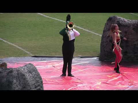 Central Cabarrus High School Marching Vikings at Mount Pleasant 9/28/2019