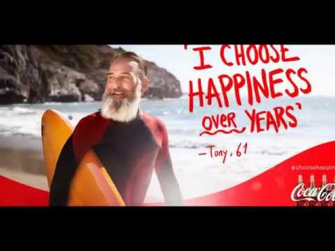 CULI EYE Drink Communications Coca Cola campaign 'I choose Happiness'