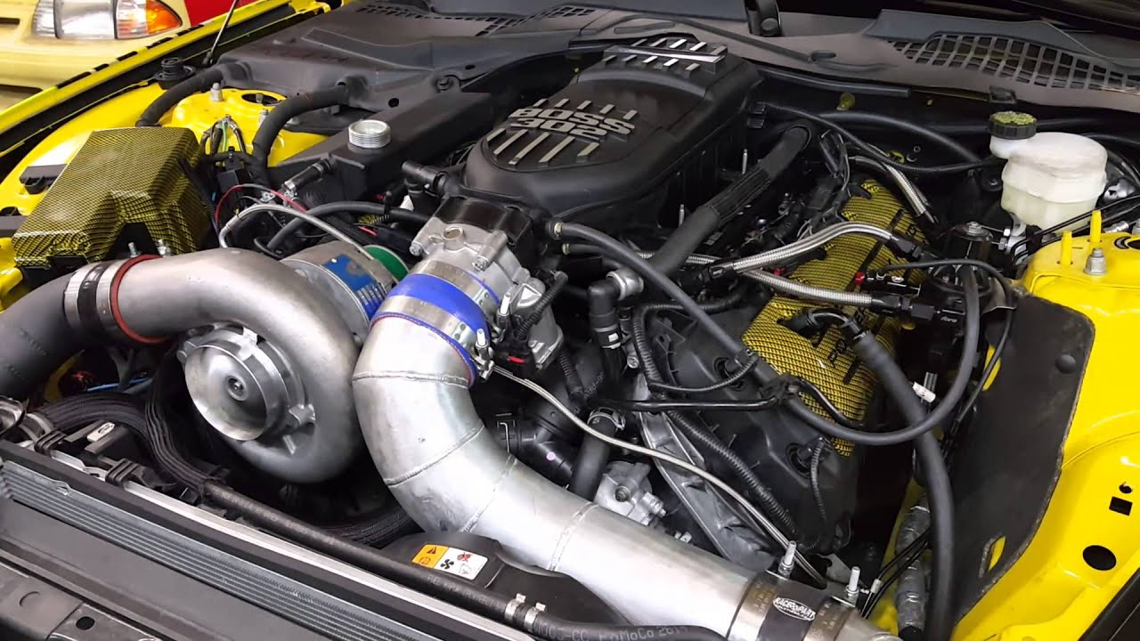 2015 Mustang 5 0 with MMR GT350 Heads Comp Stage 2 Blower Cams