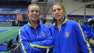 Обращение Элины Свитолиной и Ольги Савчук к украинским болельщикам