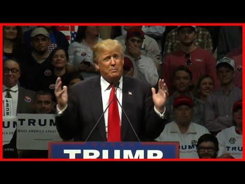 Donald Trump Holds  Rally In Oklahoma City, OK
