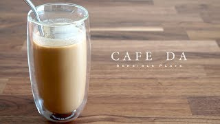 How to Make Iced Coffee with Vegan Condensed Milk (Vietnamese Summer Drink 2 of 3) | Sensible Plate