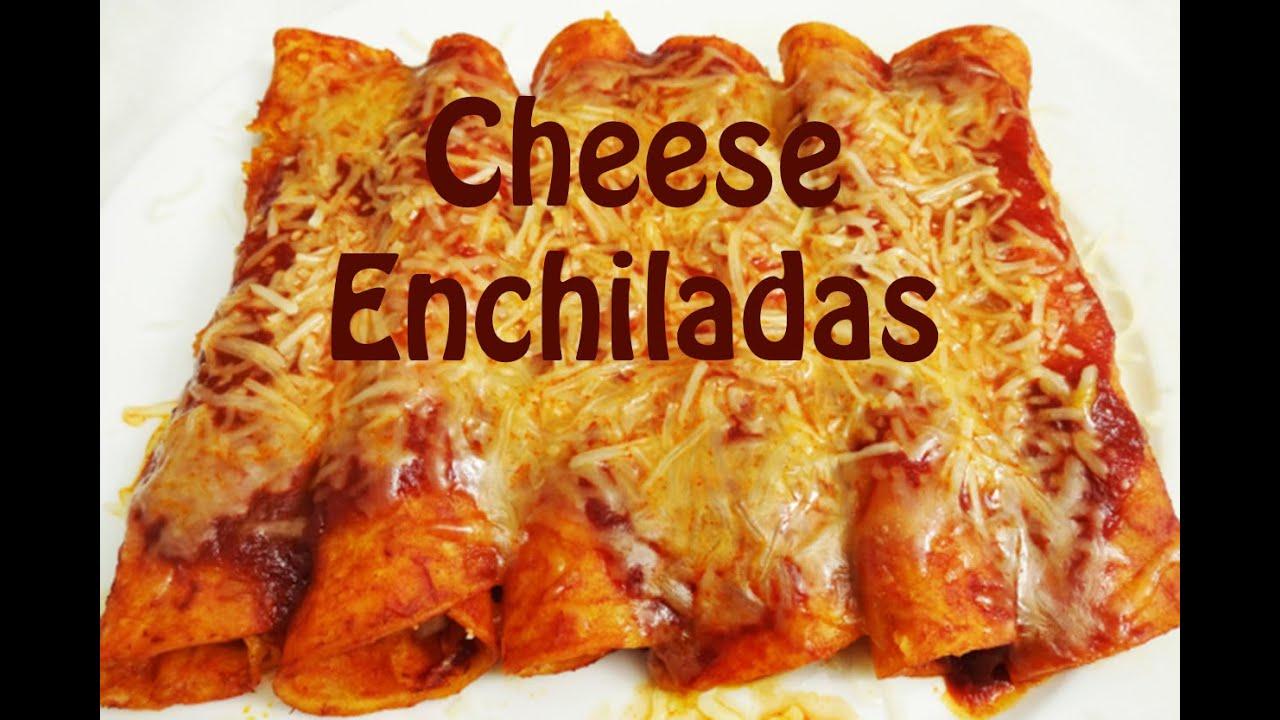 How to Make Enchiladas - Cheese Enchilada Recipe - The ...