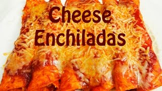 How to Make Enchiladas - Cheese Enchilada Recipe - The Frugal Chef