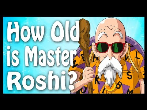 How Old is Master Roshi?  Calculated and Explained | Dragon Ball Code