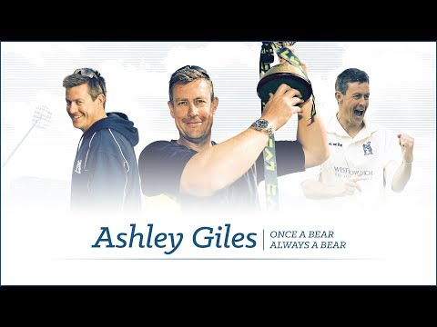 Ashley Giles thanks Bears family