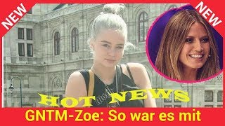 GNTM-Zoe: So war es mit Modelmama Heidi Klum wirklich!