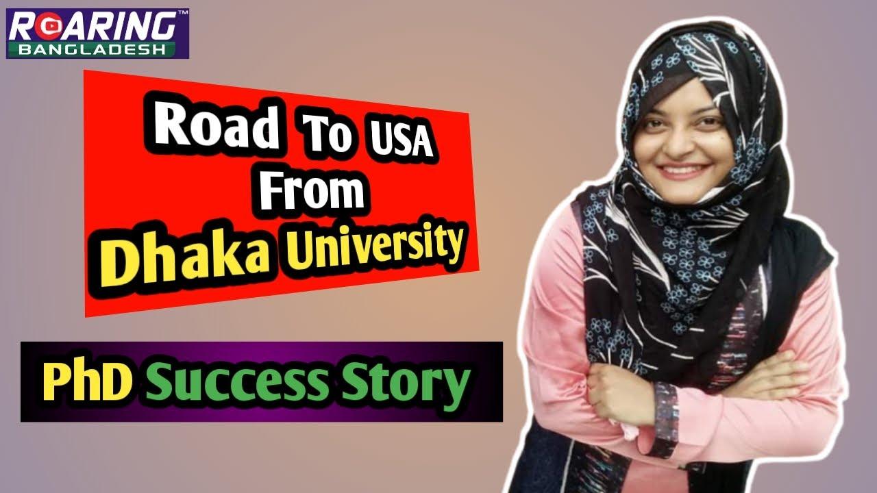 Road to USA from Dhaka University | PhD & Higher Studies Success Story | Farhana Shanta |