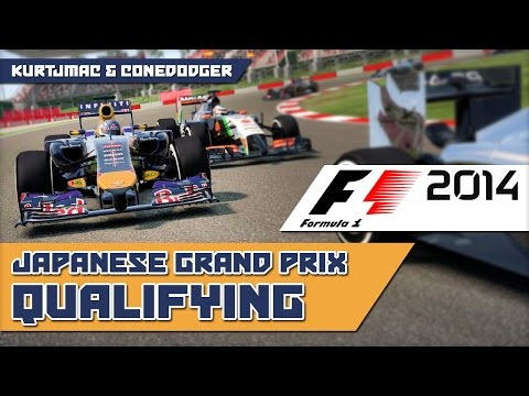 Just in Time! - F1 2014 w/ ConeDodger - Japanese GP [QUALIFY