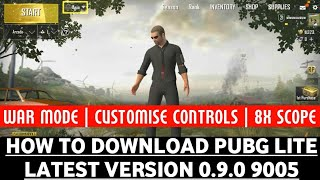 How to download pubg mobile lite 0.9.0 new update   Pubg lite 0.9 download link