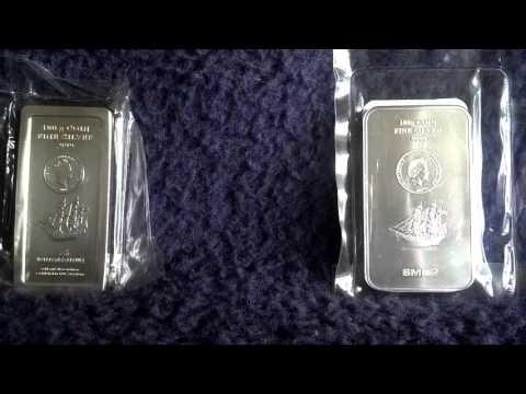 Silber neue Münzbarren 2015 in 9999-Feinheit