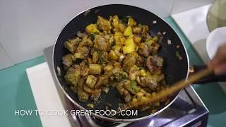 Beef Potato Curry Recipe - Super Tender Indian Masala