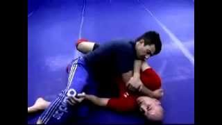 Brazilian Jiu Jitsu(Black Belt) - Carlos Machado - Half Guard to Rear Naked Choke