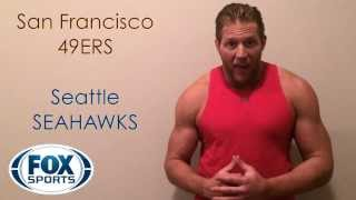 Kavita Channe's 2014 NFL Conference Champs Picks starring WWE Superstar Jack Swagger!