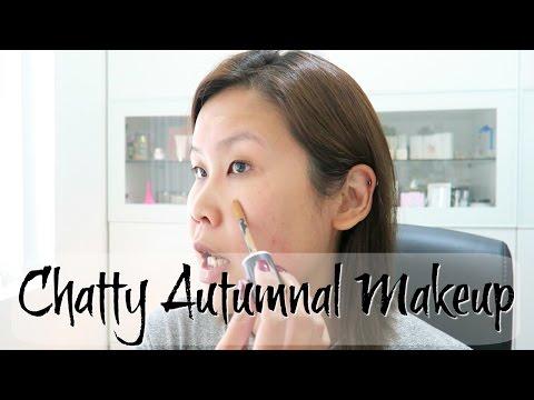 黑咪化妝 | 陪我化妝傾下計 [申報利益 + 細個讀書 + 點學英文] Chatty Autumnal Makeup